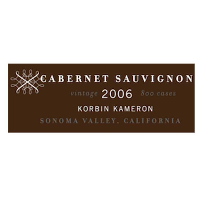 Korbin Kameron Cabernet Sauvignon Label